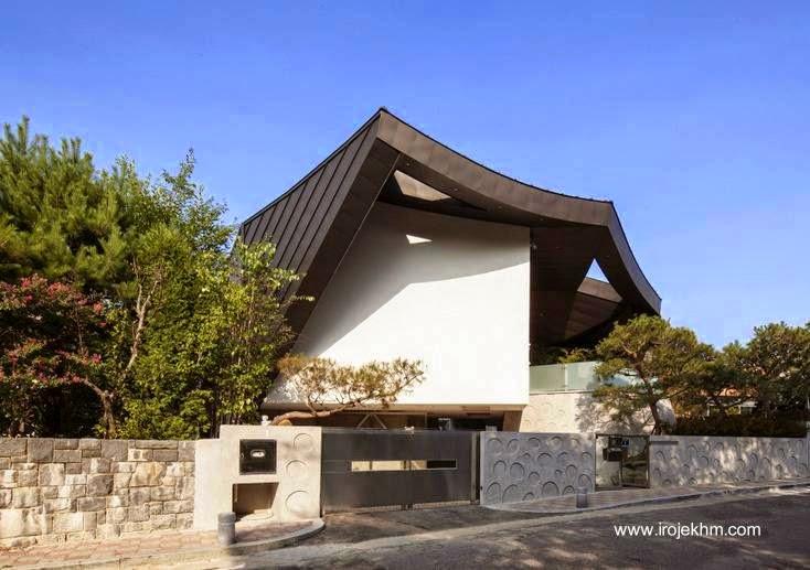 Casa moderna y tradicional original en Corea del Sur 2013