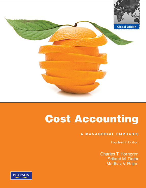management accounting and latest edition Cost and management accounting is a comprehensive resource intended for courses which cover the fundamentals of this subject the content is aligned to the latest curriculum of the chartered institute of management accountants (cima), and deals with the basic concepts and techniques for the identification and control of costs, as well as.