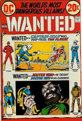 Wanted #8, the Flash and Doctor Fate