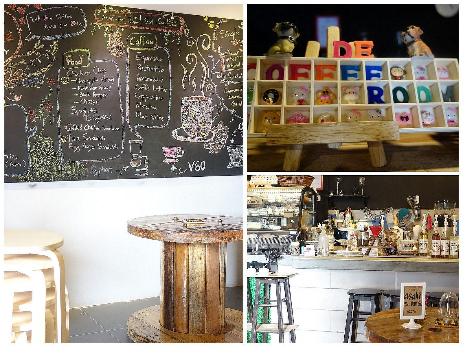 De Coffee Room Cheras Monjo Cyberjaya