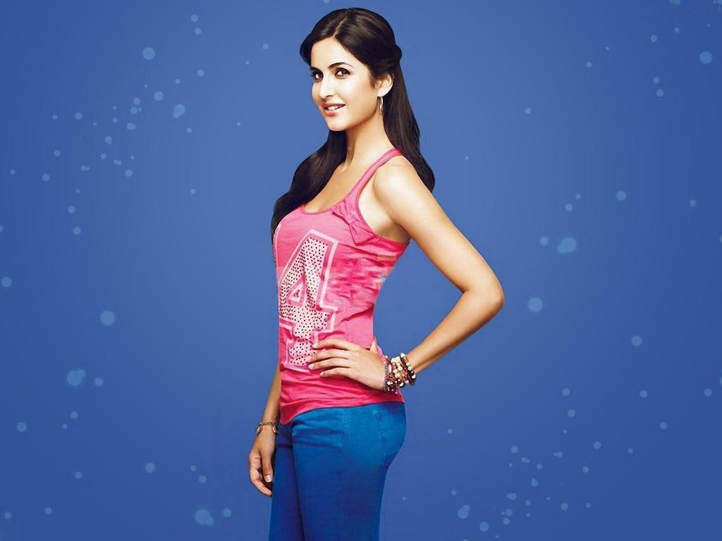 Katrina Kaif in jeans tshirt wallpapers