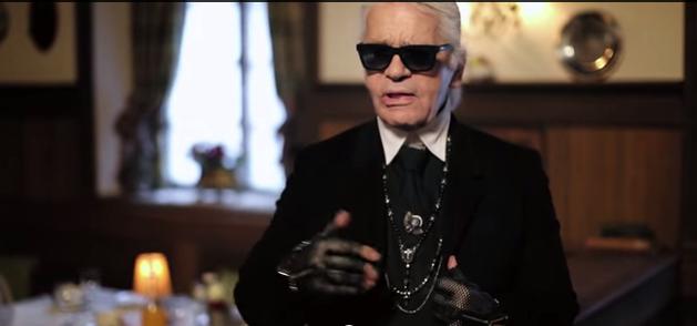 "Karl Lagerfeld on His Latest Chanel Film, ""Reincarnation"""