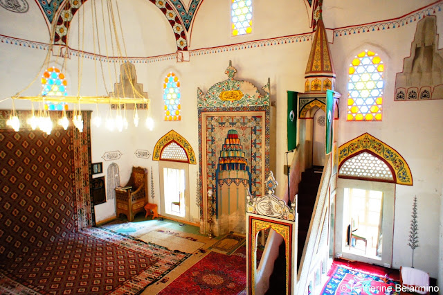 Interior of Koski Mehmed-Pasha Mosque, Mostar, Bosnia and Herzegovina