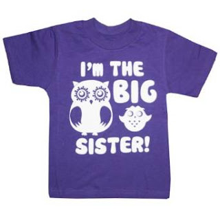 I am a big baby Clothing Little Girls' I'm The Big Sister T-Shirt