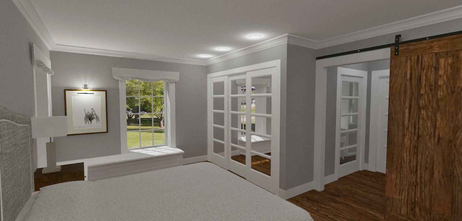 Den Vita Drömgården: Bygglovshandlingar klara - New England hus
