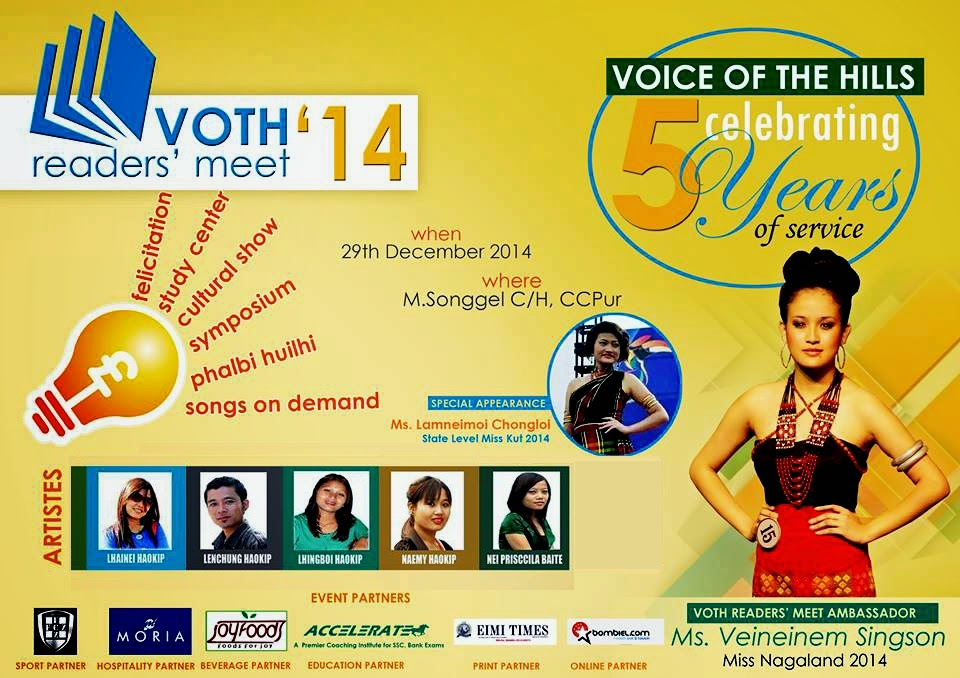Invitation | Voice of the Hills' Readers Meet 2014