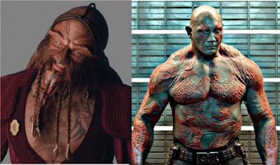 Drax vs ka d'argo