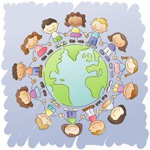 Children's Day PowerPoint Background 6