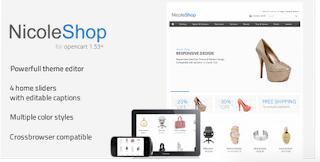 Nicole Shop - Online Store Responsive Blogger Template