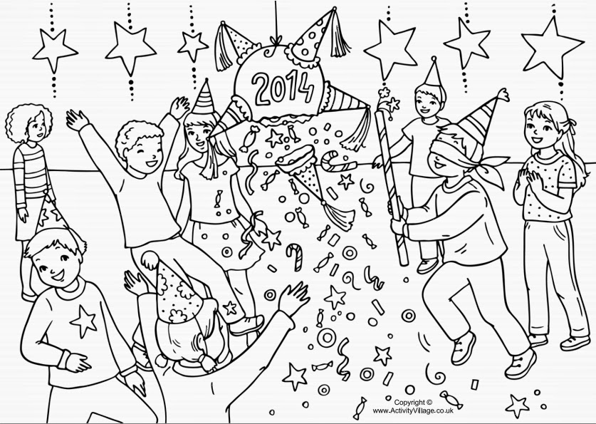fiesta bible school coloring pages - photo#5