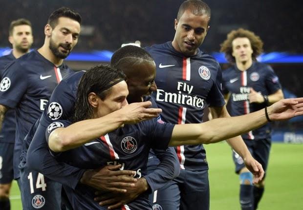 Liga Champions : PSG vs APOEL 1-0