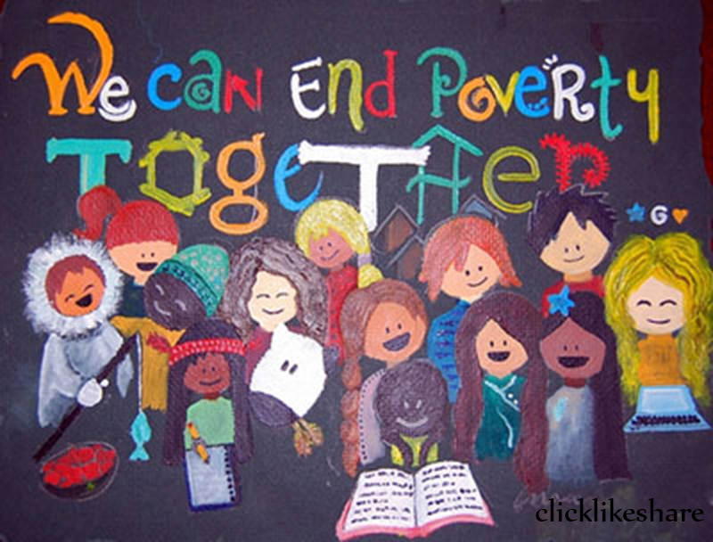 Care about World Poverty day 2014