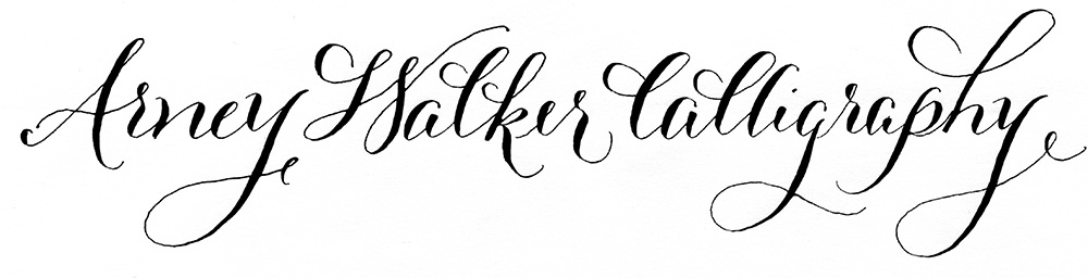 Arney Walker Calligraphy