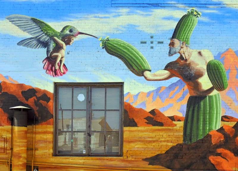 The tucson murals project joe pagac 39 s borderlands brewing for Mural joe painting
