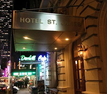 Good Cheap Hotels In New York Hotel St James Times