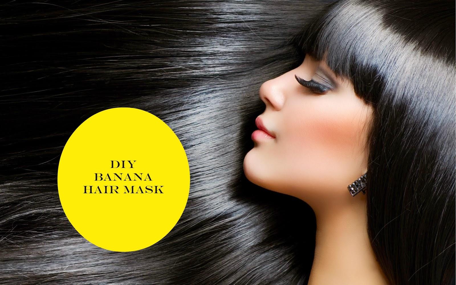 DIY Banana Hair Mask For Hair Loss And Split Ends Divas Wish