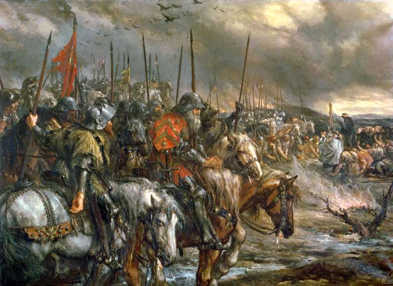 Warfare History Blog: King Henry V's Victory at the Battle of ...