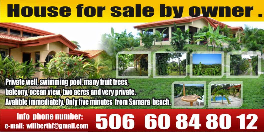 Costa rica tropical and beach homes for Costa rica home prices