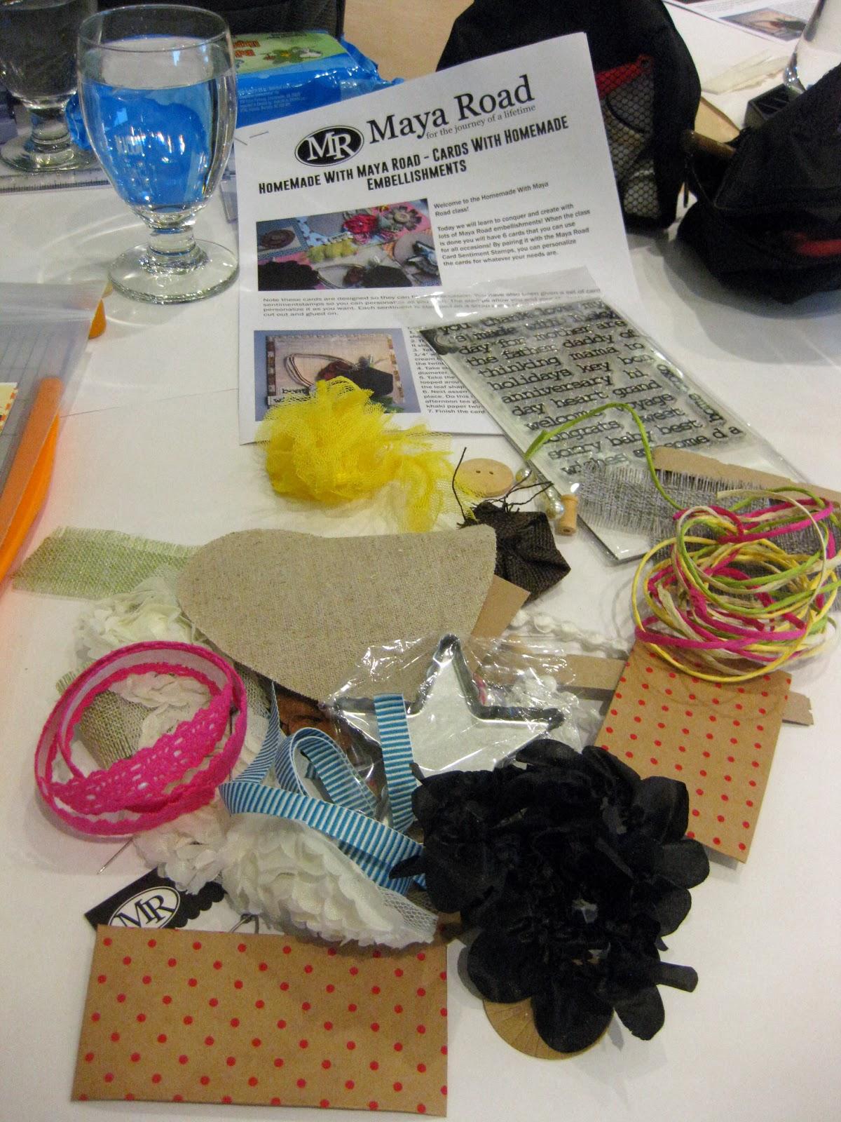 Maya Road workshop kit