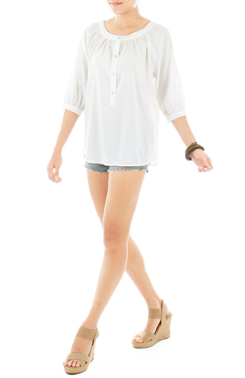 Sunday Afternoon Blouse - White
