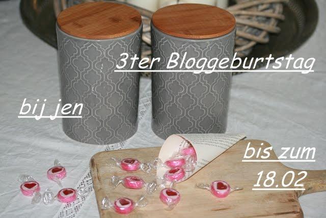 3ter Bloggeburtstag bij jen