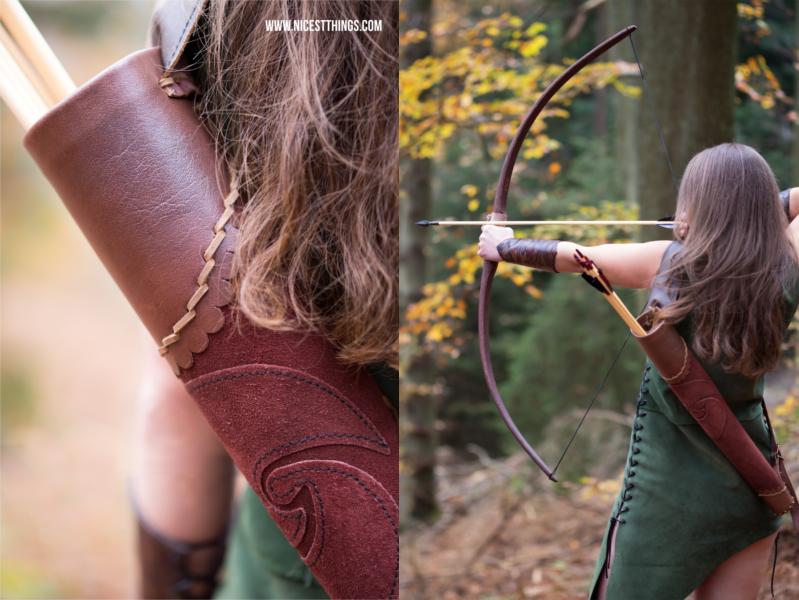 Katniss Everdeen Kleidung Outfit Kostüm