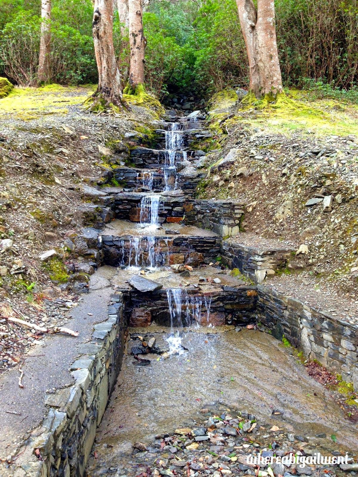 Mini Waterfall Man Made