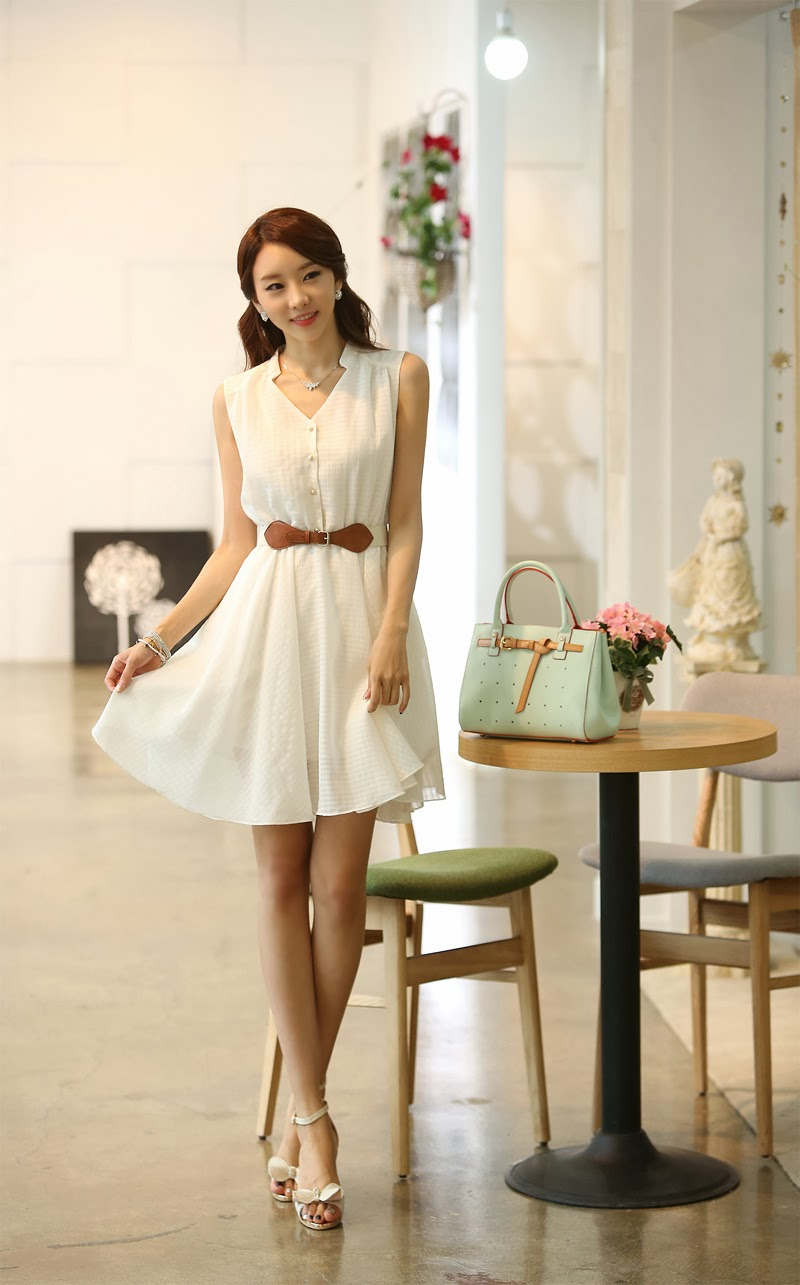 Moda coreana 18 modelos de vestidos para el verano - Moda de este verano ...