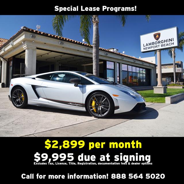 Lamborghini Newport Beach Blog Lease Specials For May 2012