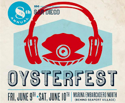Enter to win 2 backstage passes to San Diego Oysterfest - Taking place June 9 & 10!