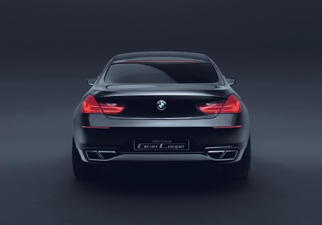Front image of BMW M6