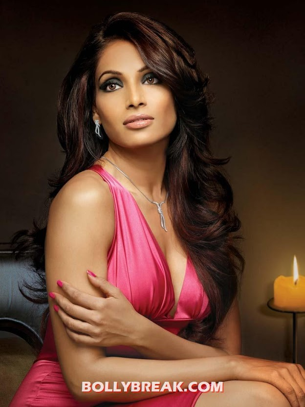 Bipasha Basu in Red hot dress open hair - Bipasha Basu Hottest Pics - Different Hairstyles - Your Pick?
