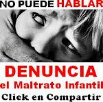 !No¡ al maltrato infantil