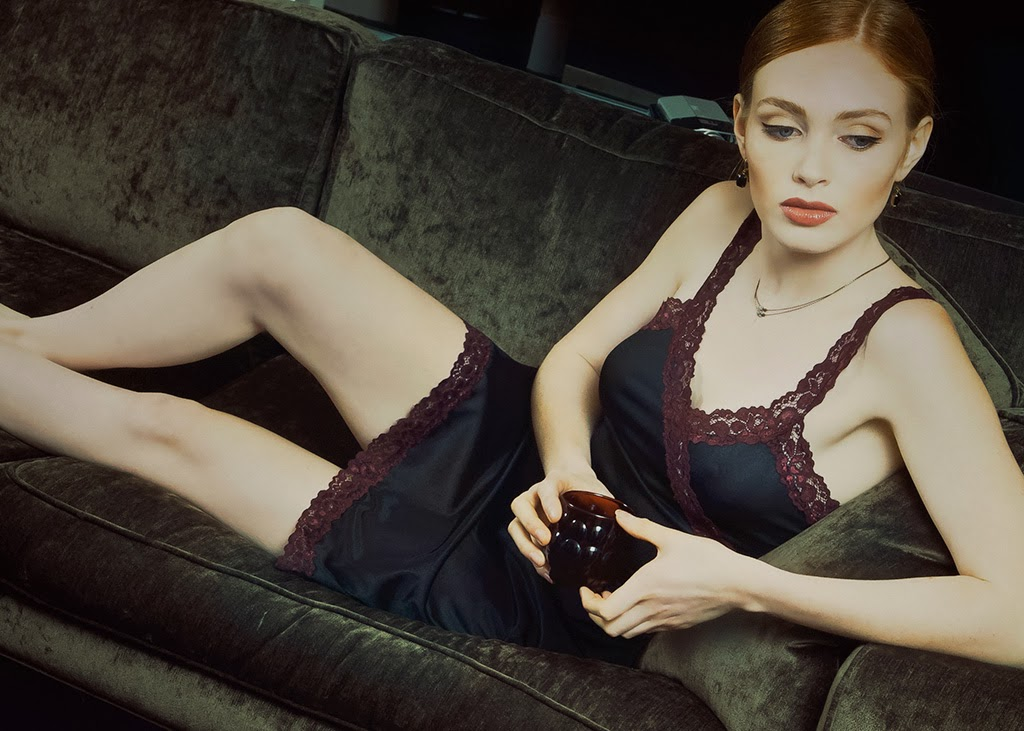 Thalia in a Sarah Bibb Ava slip...found at Folly