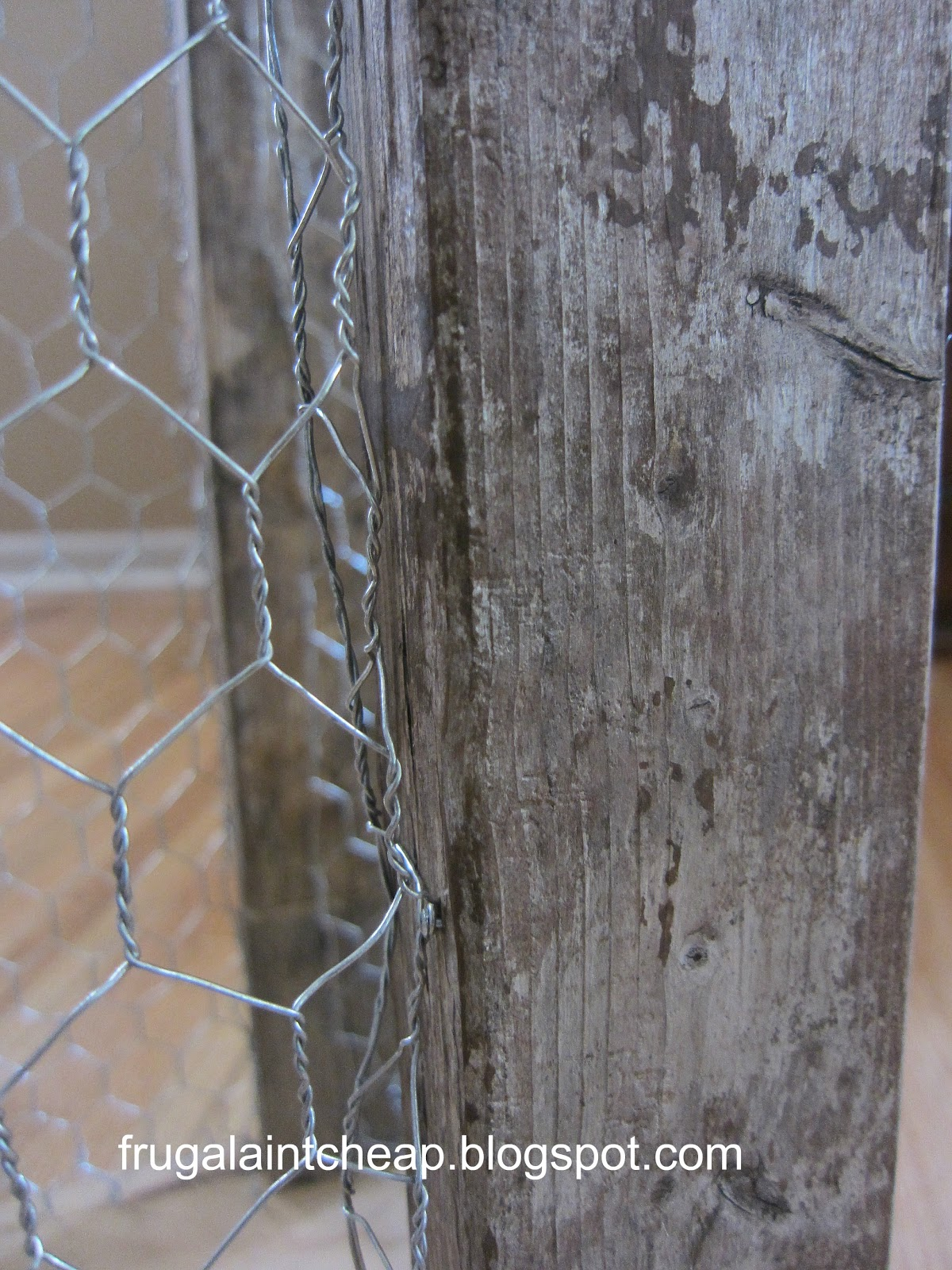 Frugal Ain\'t Cheap: Chicken wire project