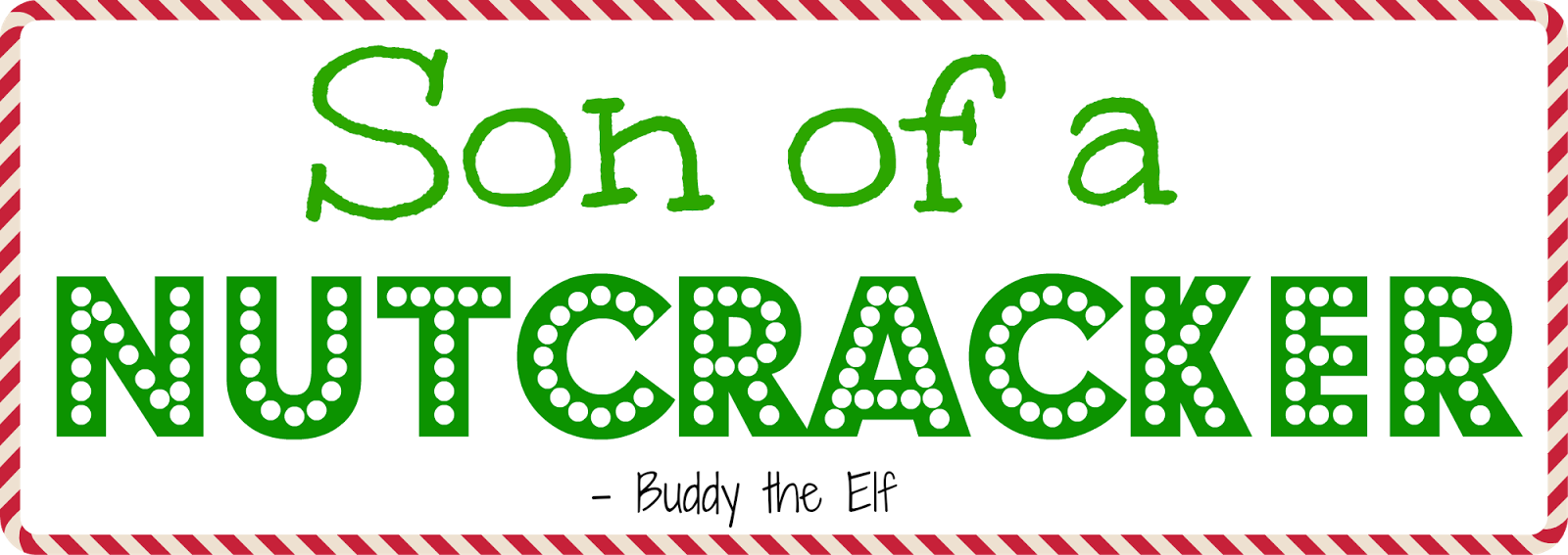 Elf Quotes The Coastie Couple Fourth Day Of Blogmas Holiday Quotes