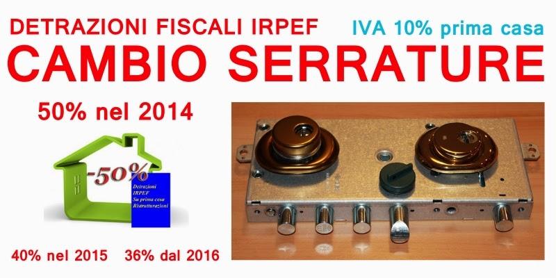 Fabbro verona sostituzione serrature porte blindate cilindri europei e controllo accessi - Detrazione spese notarili rogito prima casa ...