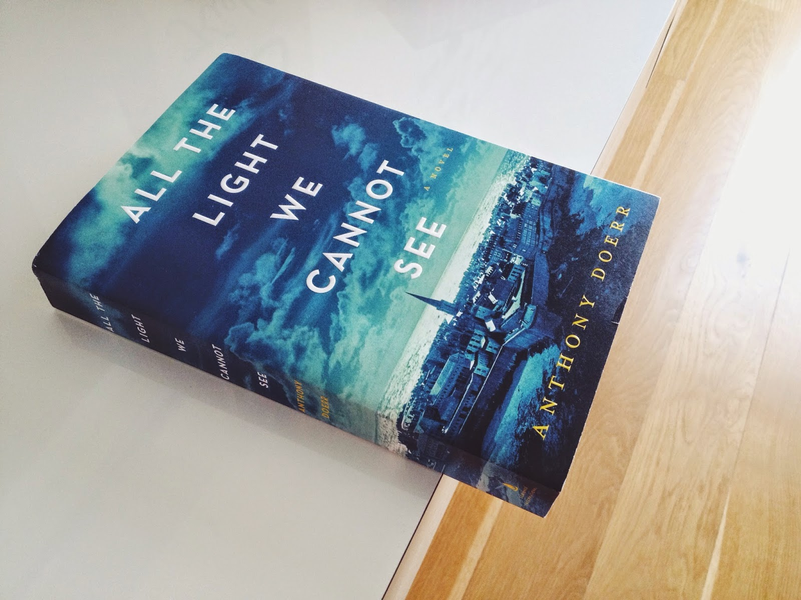 of books read REVIEW All the Light We Cannot See by Anthony Doerr