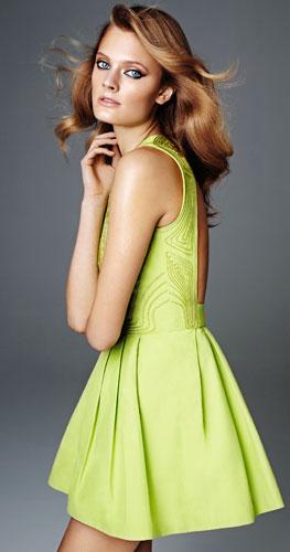 vestidos primavera verano 2012 H&M