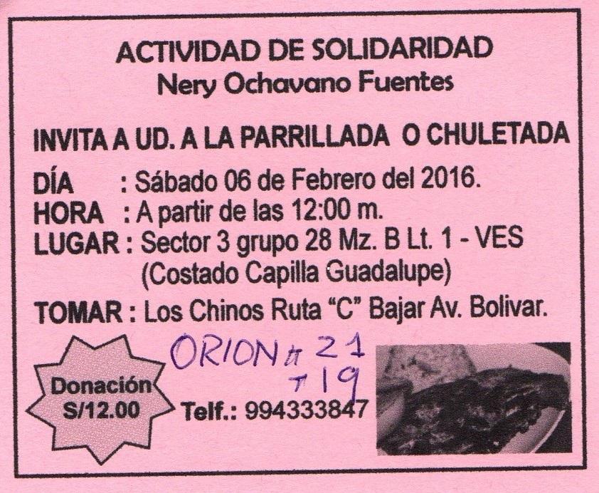 ACTIVIDAD DE SOLIDARIDAD CON LA PROF. NERY OCHAVANO FUENTES SECRETARIA GENERAL DEL SUTE 14 SECTOR