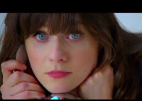 "Zooey Deschanel's Eyeliner on ""Dont Look Back"""