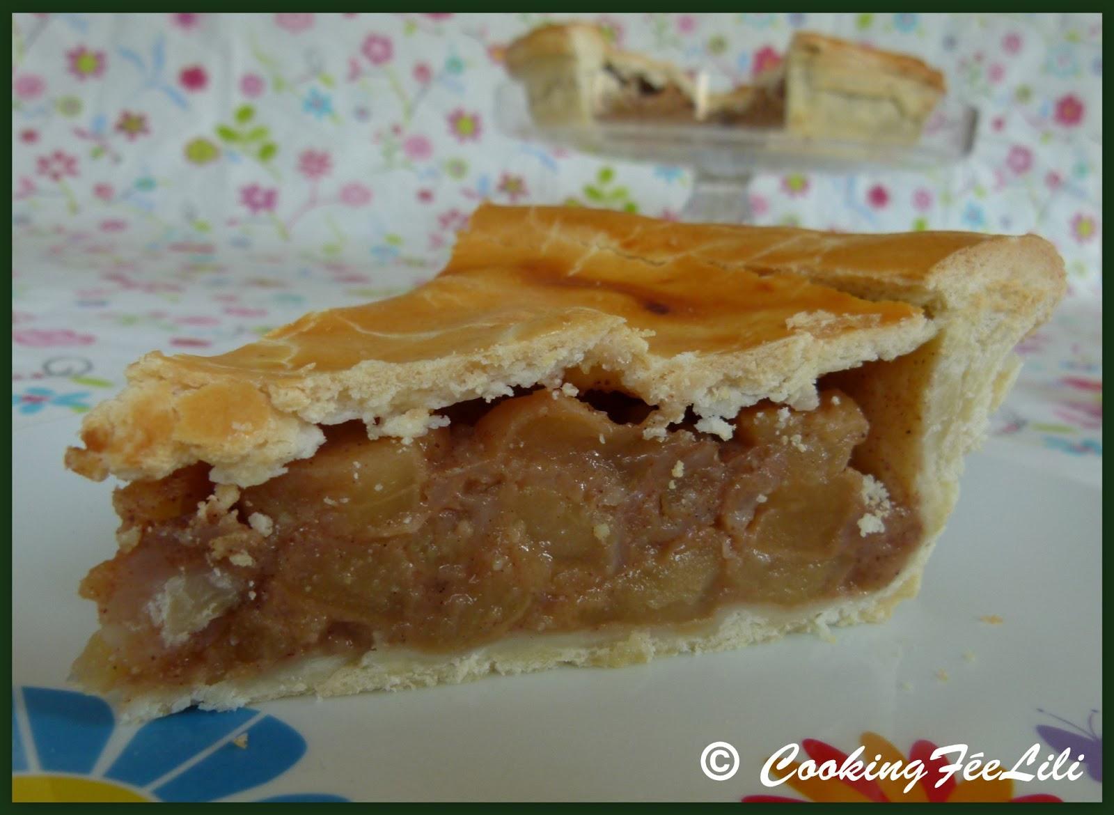 apple pie la tourte 233 paisse aux pommes blogs de cuisine