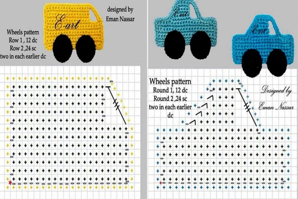 Детские аппликации для вязания спицами