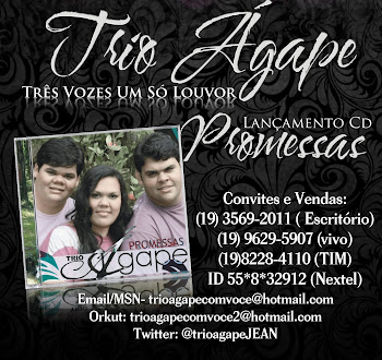 Trio Agape- EXCLUSIVO