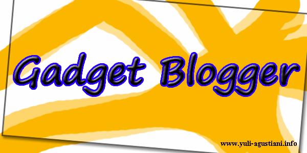Gadget Yang Wajib Ada Dalam Sebuah Blog