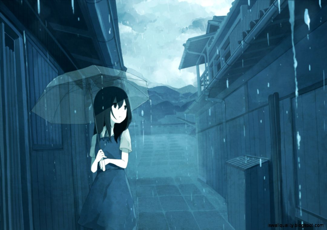 View Original Size Download Pure Sadness Anime Girl Beautiful Woman Pretty Wallpaper