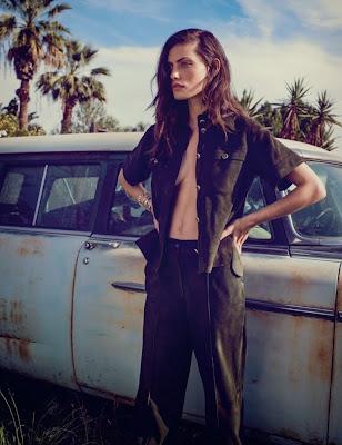 Phoebe Tonkin Elle Magazine Australia March 2015 Photoshoot