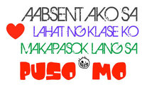 larawan ng mga pick up lines na tagalog version