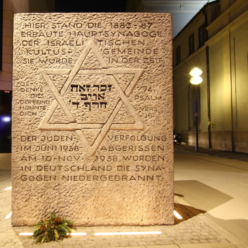 jewish memorial in munich
