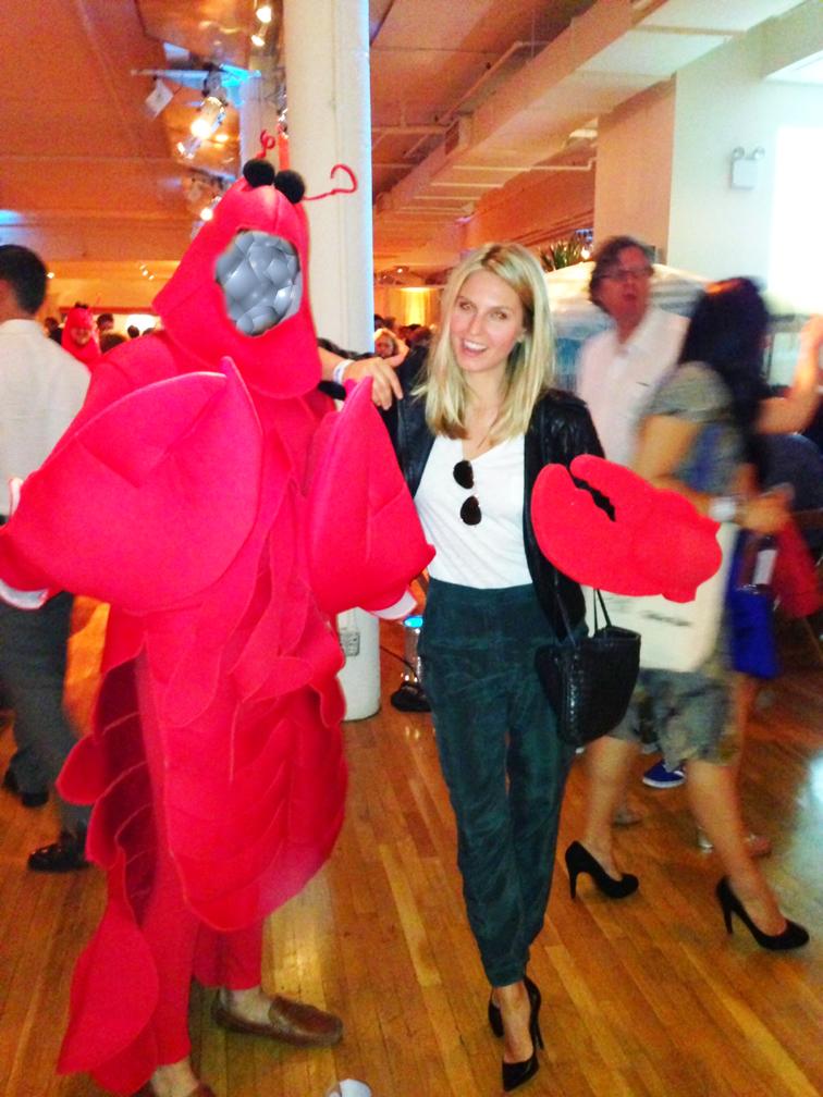 Lobster Rumble OOTD Gap Cos Guess Ray-Ban ASOS